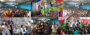 Festejo del d�a del ni�o en FM La Cueva
