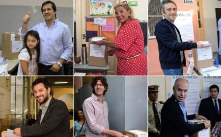 Así votaron los candidatos en las PASO porteñas<br />