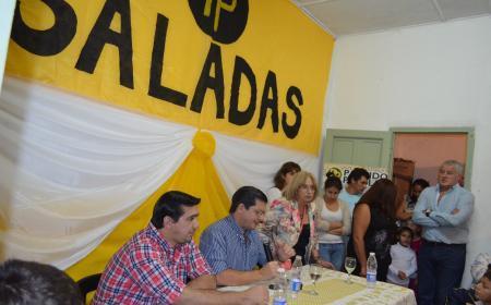 Visitò Saladas Néstor Pedro Braillard Poccard fundador del Partido Popular