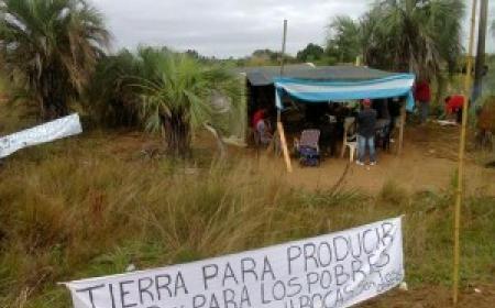 Aguardan intervención judicial por ocupación de tierras en Santa Rosa
