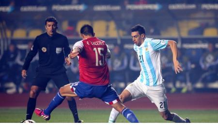 Argentina le propinó a Paraguay una goleada histórica