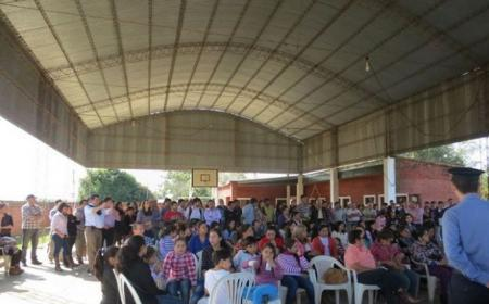 En Tatacuá se adjudicó predio de dos manzanas a 30 familias