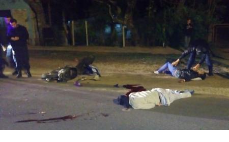 Santa Rosa: Motociclista iba sin luz, chocó contra un camión y murió