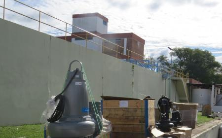 Aguas de Corrientes compra equipos de bombeo