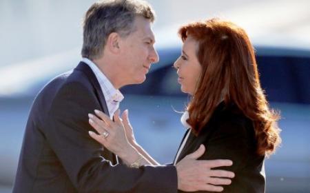 Cristina Kirchner recibe a Mauricio Macri en Olivos