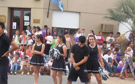Marcha en Saladas por la Eliminación de la Violencia contra la Mujer