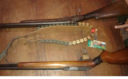 Secuestran armas de fuego adulteradas en poder de pescadores