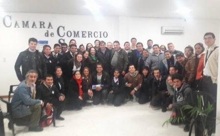 Cámara de Comercio se reunió con estudiantes del ISFD