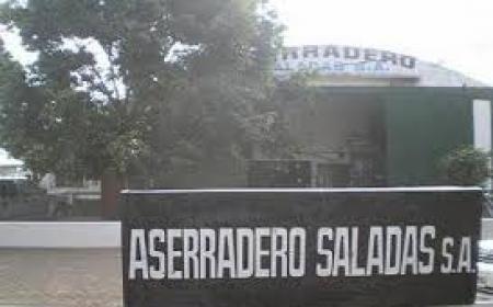 Saladas: intentaron abrir con un soplete la caja fuerte de una Aserradero