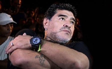 Diego Maradona se encuentra hoy en Empedrado