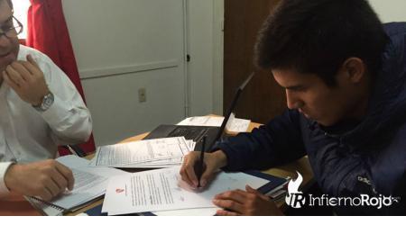 Por pedido de Milito renovó con Independiente el juvenil saladeño Jonathan Cañete
