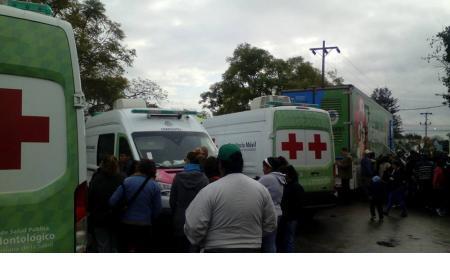 Saladas: Se realizó el Operativo Móvil de Salud en la Plaza Cabral