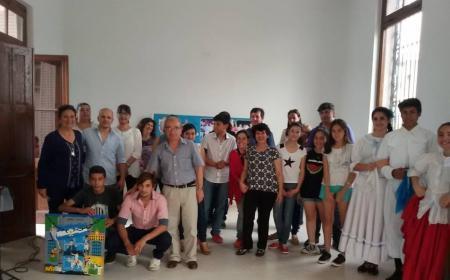 Jóvenes participaron de los Juegos Culturales Evita