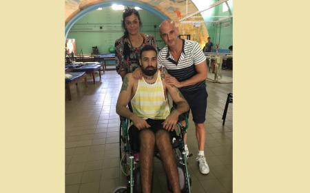 Llamado a no olvidarse de Alan Omar, su recuperación recién comienza