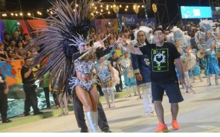 Corrientes: Maradona regresó al Nolo Alías y se animó a bailar con Copacabana y Kamandukahia
