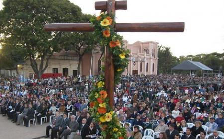 Festividad de la Cruz de los Milagros en la ciudad de Corrientes
