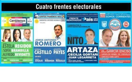 Elecciones nacionales: Eco+Cambiemos 55,33%; Juntos Podemos Más 25,60%; Frente Renovador 14,91%