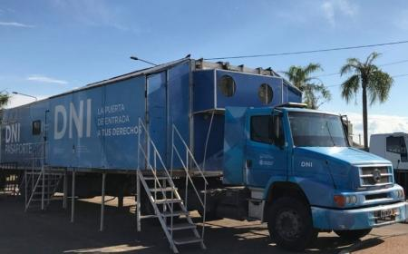Correntinos podrán obtener su DNI en dos horas en el camión fábrica en Costanera Sur