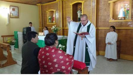 Horarios Celebración de Misa Parroquia San José de Saladas