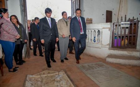 Valdés firmó un convenio para para desarrollar un museo en San Roque