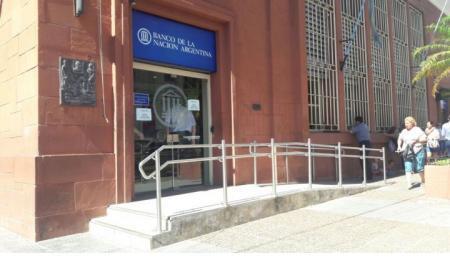 El miércoles no habrá atención al público en Banco Nación