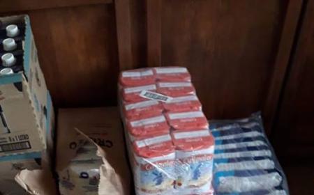 Bomberos Voluntarios Saladas desarrolla acciones solidarias en la emergencia